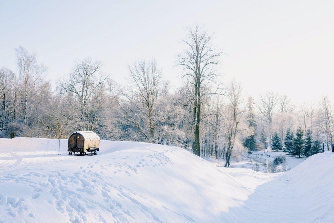 vivre ou voyager dans un pays très froid